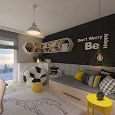 Pokój dla juniora by living box homify teen boy rooms, teenage room, toddle