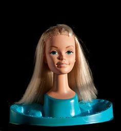 Barbie head! 80's style
