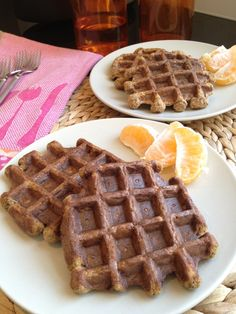 Carrot Banana Waffles For AIP, is it possible to sub eggs with gelatin? and sub mace for nutmeg