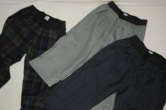 Pantaloni con pence in fresco di lana
