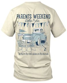 Delta Zeta Parents Weekend Tshirt