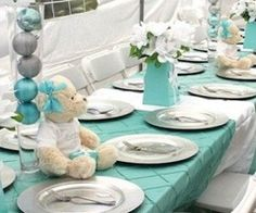Fab Baby Shower Tablescape