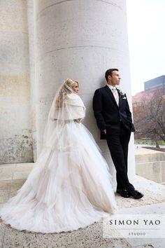 simonyao.com Columbus Ohio Wedding Photographer  #weddinggown #winterwedding  #brideandgroom