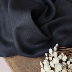 """The Atelier Brunette """"Dobby Night"""" fabric is a chic and refined dobby viscose in a solid chestnut colour. Natural Wedding Makeup, Natural Makeup, Chambray, Magazine Couture, Dobby Fabric, Makeup For Blondes, The Make, Gold Price, Makeup For Brown Eyes"""