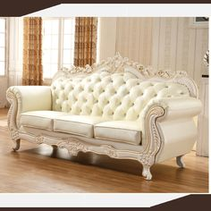 danxueya-french provincial furniture style wedding sofa chair decor for sale/French country style Vintage sofa loveseat settee Sofa Set Designs, Sofa Design, Furniture Sofa Set, Sofa Chair, Luxury Furniture, Furniture Design, Vintage Sofa, French Provincial Furniture, French Sofa