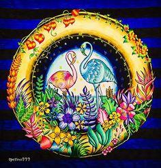 #MagicalJungle #JohannaBasford #MyCreativeEscape #JohannaBasfordMagicalJungle #AdultColouring #AdultColoring #Pending