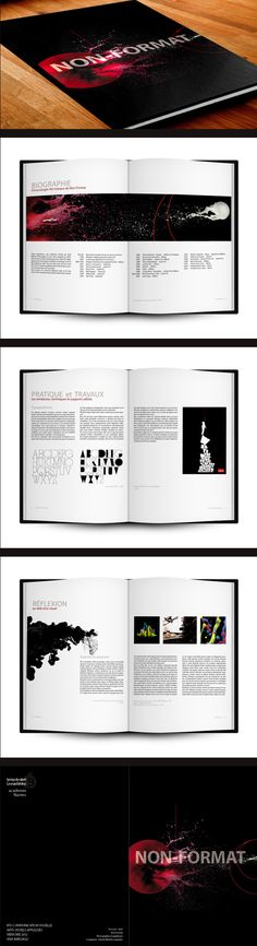 Non-format Art Book Layout