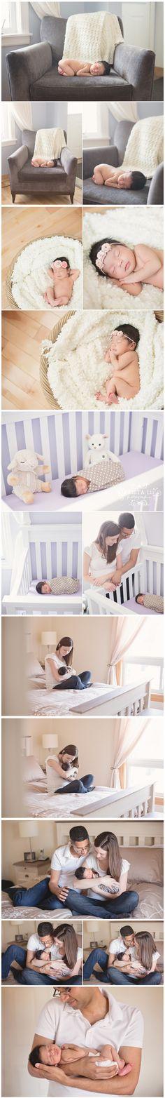 Lifestyle Newborn Photography by Krista Lii | Toronto Newborn Photographer