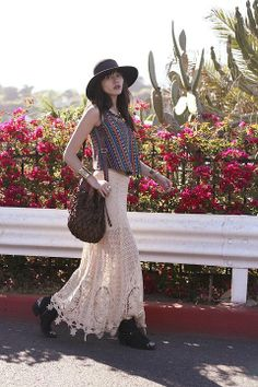 The skirt!!! Yes...love it. Mi Amore Maxi Skirt style pic