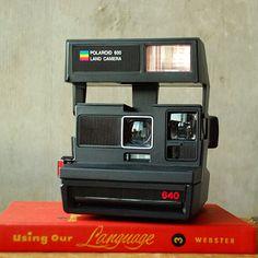 Vintage Polaroid 640 Land Camera 600 Film Eighties 1980 April.Lentkowski, Origami Owl Independent Designer 40135. visit my Facebook at www.facebook.com/OrigamiOwlAprilSki and shop from aprilski.origamiowl.com