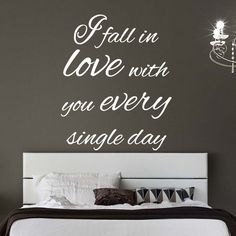 Ed Sheeran Thinking Out Loud Lyrics Wall Sticker - I Fall in love with you every single day available from Vunk Wall Stickers http://www.vunk.co.uk/all-wall-stickers/ed-sheeran-thinking-out-loud-lyrics-wall-sticker-i-fall-in-love-with-you-every-single-day.html