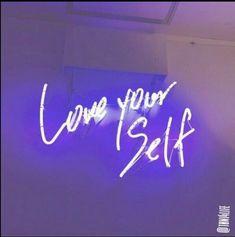 image description: purple neon sign reading love your self in a handwritten script Violet Aesthetic, Dark Purple Aesthetic, Lavender Aesthetic, Neon Aesthetic, Quote Aesthetic, Purple Wallpaper Iphone, Neon Wallpaper, Aesthetic Iphone Wallpaper, Aesthetic Wallpapers