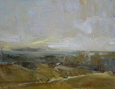 "Valley by Simon Addyman Oil ~ 8"" x 10"""