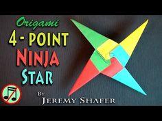 Four Point Ninja Star (no music) - YouTube