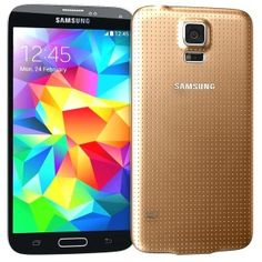 Gold Samsung Galaxy S5 is Now Available in the U.S. Carrier