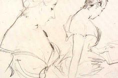 Sketch Reading Book - John Singer Sargent