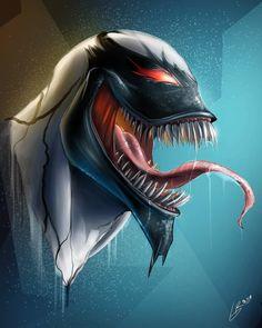 Likes, 284 Comments - Marvel Ms Marvel, Anti Venom Marvel, Spiderman Venom, Silk Marvel, Marvel Fan Art, Marvel Comic Universe, Marvel Dc Comics, Marvel Heroes, Art Venom