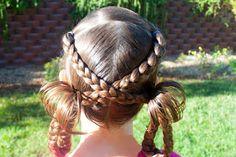Criss-cross braids to loopies