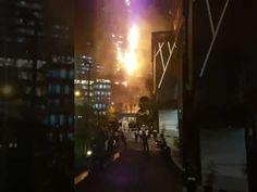Gedung Neo Soho dekat Central Park Mall kebakaran!!! - YouTube