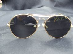 Vintage 1970s Mens Wire Framed Large Lens by Petticoatjaneantique, £3.00