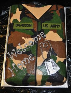 u s army welcome home cake custom cakes by cake daddy pinterest