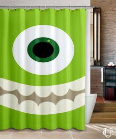 Cheap Monster Inc Disney Movie Trailer Shower Curtain