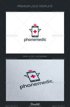 Phone Medic  - Logo Design Template Vector #logotype Download it here: http://graphicriver.net/item/phone-medic-logo-template/2215282?s_rank=540?ref=nexion