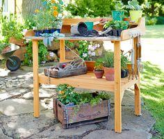 Növény ültető asztal 311969 a Tchibo-nál.
