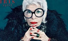 #IrisApfel \\\ #shoellerulrichm