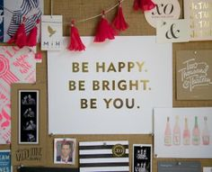 How To Make An Inspiration Board with Sugar Paper