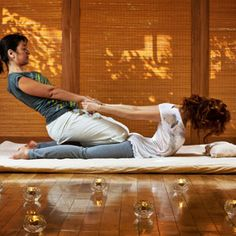 Thai Yoga Massage: MUST TRY!  Looks like it would feel awesome!