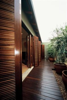 I love the wooden french doors to match the wood panel floors :)