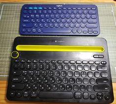 이번에 새로 산 블루투스 로지텍 키보드.... 예전에 산 것은 키보드 터치가 넘 빡빡한 듯 했는데...k380은 작고 좋다... 책상위에 항상 널브러 진 것들이 많아 작고 작은 키보드가 넘,,,,,,,, 마음에 든다..랄라~~ Computer Keyboard, Electronics, Computer Keypad, Keyboard Piano