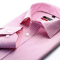 Executive Men's Shirt Dress Shirt And Tie, Tied Shirt, Next Fashion, Fashion Outfits, Men's Fashion, Business Shirts, Check Shirt, Colorful Shirts, Men's Shirts