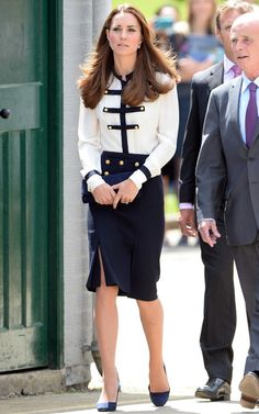 Kate Middleton at Bletchley park