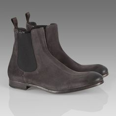 Paul Smith Shoes Grey Otter Boot Hommes Chaussures Bottes, Bottes Pour  Hommes, Loutre, dbfd491c0759
