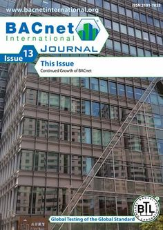 BACnet International Journal Issue 13 The BACnet International Journal is a global magazine for building automation based on BACnet technology. Experts, practitioners and professionals show the way in applying and developing the BACnet standard – from building automation trends to devices and application projects; from qualification and training to testing and certification; from who's who in the BACnet community to useful information on events and publications. Special attention is given to…