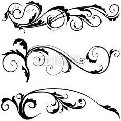 Floral Decoration risultati immagini per ghirigori angolo | ghirigori | pinterest