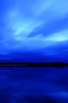 Its a blue  world♠