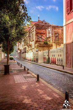 The beautiful unseen streets of Beirut  By Yehia Haikal Photography  #Lebanon #WeAreLebanon