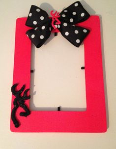 Browning Picture Frame by CountryyCreek on Etsy, $6.00
