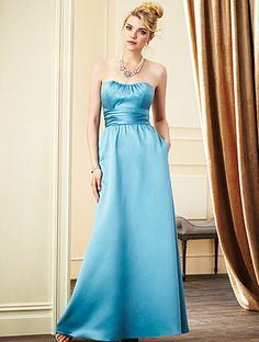 Alfred Angelo Bridesmaid Style 7267L in Beyond the Sea