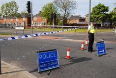 Marsh House Avenue closed for Police house to house searches during a recent suspicious package scare. Subsequent forensic tests proved it was a bag of fresh fruit & vegetables