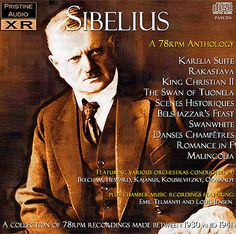 SIBELIUS: A 78rpm Anthology  Pristine Audio PASC 204 Classical Music Composers, Romantic Period, Finland, Audio, Romance, Christian, Movie Posters, Fictional Characters, Romance Film