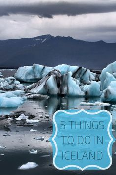 5 Things Iceland | Travel Tips | Budget Travel
