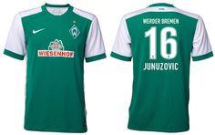 camiseta Werder Brema primera 2015-2016