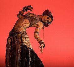 Tribal Belly Dancer Gypsy Rachel Brice of Indigo