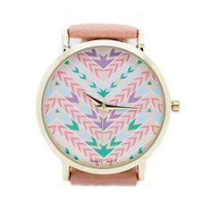 Reloj Étnico Rosa - Miadamia - Complementos