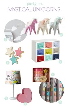 party on | mystical unicorns. // for @landofnod