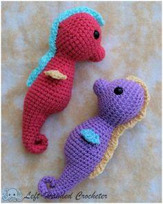 Crochet Seahorse-Left-Handed Crocheter